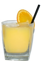 007 Killa - The 007 Killa is made from vodka, rum and orange juice, and served in an old-fashioned glass.