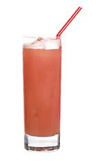 Picture of 491. The 491 drink is made from rum, dry gin and ginger ale and served in a highball glass. Add a bit of grenadine to get a nice peachish color.