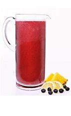 Acai Freeze Pitcher - The Acai Freeze Pitcher is made from VeeV acai spirit, pineapple, blueberries, simple syrup and ice, and served in a pitcher. This recipe makes 6 servings.
