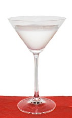 Alexander - The Alexander Cocktail is made from Gin, Crème de Cacao, half-and-half and nutmeg, and served in a cocktail glass.