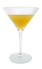 Apricot Cocktail - The Apricot Cocktail is made from Apricot Brandy, Vodka, fresh lemon juice and fresh orange juice, and served in a cocktail glass.