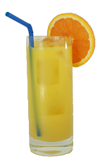 Apricot Screwdriver - The Apricot Screwdriver drink is made from Vodka, Apricot Brandy, Triple Sec and orange juice, and served in a highball glass.