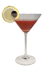 Boston Red Cocktail - The Boston Red cocktail is a variation of the classic Boston Cocktail, substituting Chambord in the place of the apricot brandy. Made from gin, Chambord, lemon juice and grenadine, the Boston Red cocktail is served in a chilled cocktail glass.