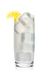 Bubbly Hot - The Bubbly Hot drink is made from Stoli Hot jalapeno vodka and club soda, and served in a highball glass.