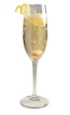 Classic Champagne Cocktail - The Champagne Cocktail is a classic New Years drink made from champagne, Angostura bitters and a sugar cube, and served in a chilled champagne flute.