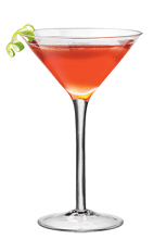 Cosmo PAMA - The Cosmo PAMA cocktail is made from PAMA Pomegranate Liqueur, Cointreau, lime and cranberry juice.