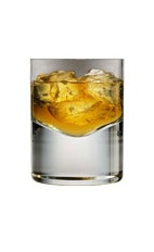 Drambuie on the Rocks - Before mixing any liqueur, one should first enjoy one on the rocks. Drambuie on the rocks brings out the incredible flavors of Scottish whiskies, honey, herbs and spices. This drink is made simply with Drambuie and served in an old-fashioned glass.