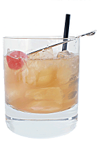 Forester Drink - The Forester drink is made from Bourbon, Cherry Liqueur and fresh lemon juice, and served in a chilled old-fashioned glass.