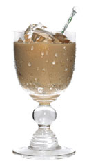 Nutty Irishman - The Nutty Irishman cocktail is made from Frangelico hazelnut liqueur and Irish cream, and served in a chilled cocktail glass.