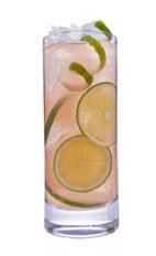 French Caipirinha - The French Caipirinha drink is made from cachaca, elderflower liqueur, grapefruit juice and champagne, and served in a highball glass.