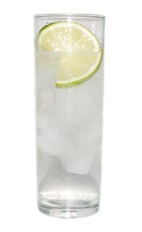 Gin and Tonic - The Gin and Tonic drink is made from Gin and tonic water, and served in a chilled collins glass.