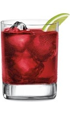 Grand Cool - The Grand Cool drink is made from Grand Marnier, cranberry juice and lime juice, and served in an old-fashioned glass.