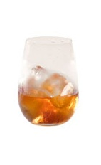Grand Marnier on Ice - The Grand Marnier on Ice drink is made from Grand Marnier, and served in an old-fashioned glass.