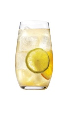 Grand Tonic - The Grand Tonic drink is made from Grand Marnier, tonic water, orange and lemon, and served in a highball glass.