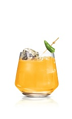 Hot Screw - The Hot Screw drink is made from Stoli Hot jalapeno vodka and orange juice, and served in an old-fashioned glass.