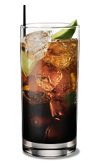 Club Kahlua - The Club Kahlua drink is made from Kahlua coffee liqueur, club soda and lime, and served in a highball glass.