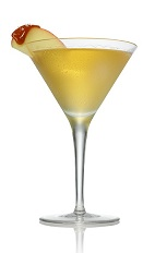 Appletini Karamel - The Appletini Karamel cocktail is made from Stoli Salted Karamel Vodka and apple juice, and served in a chilled cocktail glass.