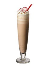 Kilimanjaro - The Kilimanjaro drink is made from Amarula, creme de menthe, vodka and vanilla ice cream, and served in a tall chilled champagne flute.