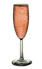La Rosette - The La Rosette cocktail is made from St-Germain elderflower liqueur and brut rose champagne, and served in a chilled champagne flute.