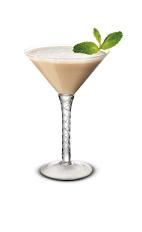 Minty Mistletoe - The Minty Mistletoe cocktail is made from Baileys Irish Cream and peppermint schnapps, and served in a chilled cocktail glass.