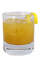 Orange Blossom Special - The Orange Blossom Special drink is made from Bourbon, Cointreau and fresh orange juice, and served in a chilled old-fashioned glass.