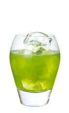 The randy little kiwi drink is made from midori melon for Cocktail kiwi vodka