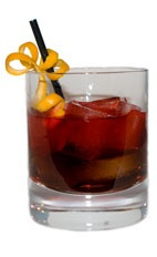Red Russian - The Red Russian is a variation of the classic Black Russian, made from red vodka and Kahlua Peppermint Mocha. The Red Russian is a great Christmas drink, and served in an old-fashioned glass.
