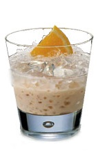 Reggae Cream - The Reggae Cream drink is made from Amarula Cream Liqueur and rum, and served in an old-fashioned glass.