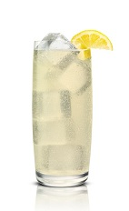 Salty Sweet Sour - The Salty Sweet Sour drink is made from Stoli Salted Karamel Vodka and lemonade, and served in a highball glass.