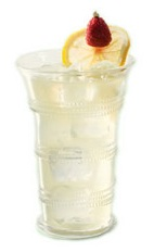 St-Tropez - The St-Tropez drink is made from vodka, St-Germain elderflower liqueur, lemon juice and club soda, and served in a highball glass.