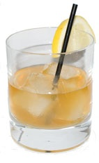 Stiletto - The Stiletto drink is made from Bourbon, Amaretto and fresh lemon juice, and served in a chilled old-fashioned glass.