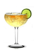 Tamarind Margarita - The Tamarind Margarita is made with Jose Cuervo silver tequila and tamarind juice, and served in a sugar-rimmed margarita glass.