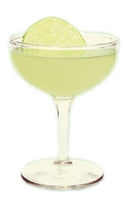 The Gypsy Cocktail - The Gypsy cocktail is made from gin, St-Germain elderflower liqueur, green chartreuse and lime juice, and served in a chilled cocktail glass.