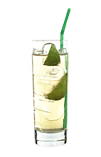 Billiard Bull - The Billiard Bull drink is made from Bacardi Limon, Red Bull, lemon lime soda and lime juice, and served in a highball glass.