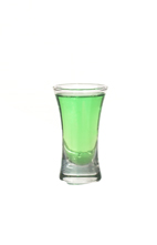 Birdie Nam Nam - The Birdie Nam Nam shot is made from vodka, gin, white rum and Pisang Ambon, and served in a shot glass.