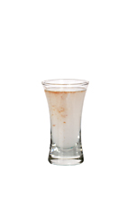 Jellyfish - The Jellyfish shot is made from tequila, sambucca and Tabasco sauce, and served in a shot glass.