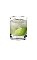 Caipiroska - The Rock Island drink is made from vodka, lime wedges and sugar, and served in an old-fashioned glass.