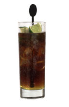 Shocking Jack - The Shocking Jack drink is made from Galliano, Pernod and cola, and served in a highball glass.