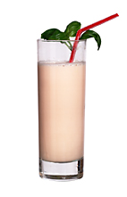 Cobra - The Cobra drink is made from vodka, Midori Melon Liqueur, Licor 43, milk and grenadine, and served in a highball glass.