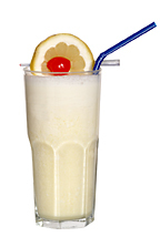 Creamsicle - The Creamsicle drink is made from Licor 43, light cream and orange juice, and served in a highball glass.