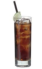 Cuba Libre - The Cuba Libre is made from white rum and Coca-Cola, and served in a highball glass.