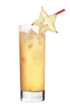 Disney - The Disney drink is made from lemon rum (aka Bacardi Limon), Advocaat Egg Liqueur and pear cider, and served in a highball glass.