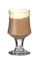 Dooleys Coffee - The Dooleys Coffee drink is made from Dooleys Toffee Liqueur, hot coffee and whipped cream, and served in a wine glass, or an Irish coffee glass.