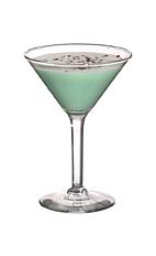 Grasshopper - The Grasshopper cocktail is made from creme de menthe, white creme de cacao and light cream, and served in a cocktail glass.