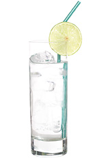 Hanna - The Hanna drink is made from gin and mineral water, and served in a highball glass.