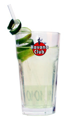 Havana Rose - The Havana Rose drink is made from light rum, bourbon, Sourz Apple, lime juice and lemon-lime soda, and served in a highball glass.