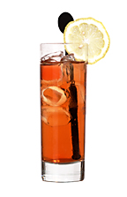 Kebas - The Kebas drink is made from citrus rum (aka Bacardi Limon), Red Bull, lemon-lime soda and grenadine, and served in a highball glass.