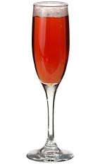 the kir royal also called a royal kir is made from creme de cassis and champagne and served. Black Bedroom Furniture Sets. Home Design Ideas