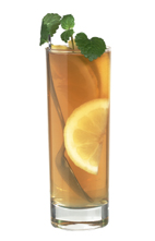 Cognac toddy - The Cognac Toddy drink is made from Cognac, lemon juice and hot tea, and served in a highball glass.