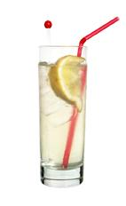 Naughty - The Naughty drink is made from raspberry rum (aka Bacardi Razz), citrus rum (aka Bacardi Limon) and lemon-lime soda, and served in a highball glass.